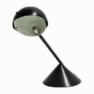 Vintage Industrial Metal Table Lamp, 1970s
