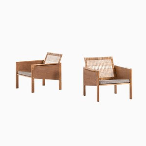 Danish Model 150 Armchairs by Kai Kristiansen for Christian Jensen Møbelsnedkeri, 1960s, Set of 2