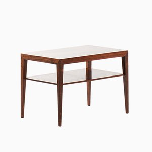 Table d'Appoint en Palissandre par Severin Hansen pour Haslev Møbelsnedkeri, Danemark, 1950s