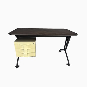 Modernist Italian Arco Desk by BBPR for Olivetti Synthesis, 1960s