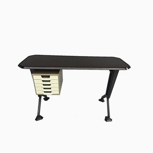 Modernist Italian Metal Desk by BBPR for Olivetti Synthesis, 1960s
