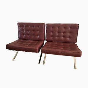 Lounge Chairs by Ludwig Mies van der Rohe for Knoll Inc. / Knoll International, 1960s, Set of 2