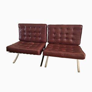 Sessel von Ludwig Mies van der Rohe für Knoll International, 1960er, 2er Set