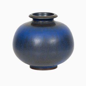 Vaso in ceramica di Berndt Friberg per Gustavsberg, anni '60