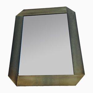 Moderner italienischer Vintage Spiegel, 1970er