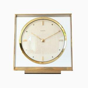 Uhr aus Messing von Kienzle International, 1960er
