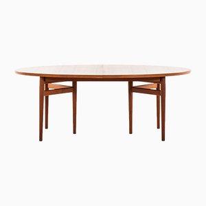 Tavolo da pranzo nr. 212 in teak di Arne Vodder per Sibast, Danimarca, anni '50