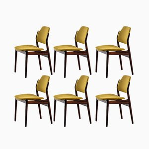 Moderne dänische Modell 462 Esszimmerstühle aus Palisander von Arne Vodder, 1961, 6er Set