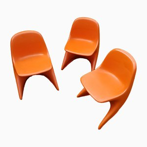 Stackable Childrens Casalino Chairs by Alexander Begge for Casala, 1970s, Set of 3