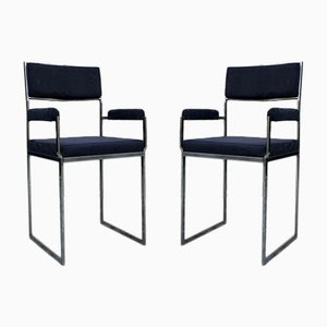 Italian Side Chairs, 1970s, Set of 2