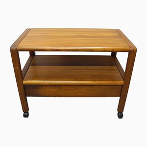 Mid-Century Scandinavian Modern Danish Teak Veneered Trolley from Durup