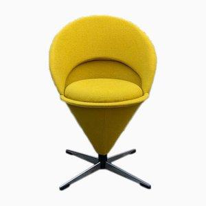 Chaise Conique par Verner Panton pour Gebruder Nehl, Allemagne, 1960s