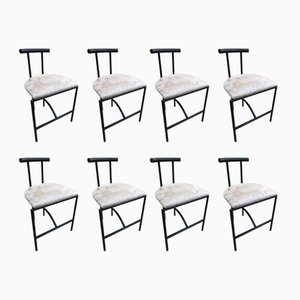 Italian Tokyo Chairs by Rodney Kinsman for Bieffeplast, 1980s, Set of 8
