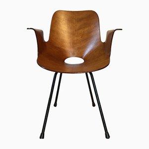 Medea Chair by Vittorio Nobili for F.lli Tagliabue, 1950s