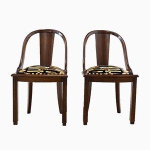 Portugiesische Vintage Beistellstühle, 1970er, 2er Set