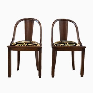 Vintage Portugese Side Chairs, 1970s, Set of 2