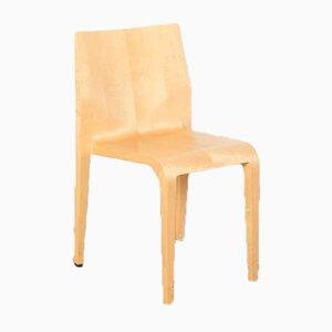 Laleggera Stuhl aus Ahorn & Polyurethan von Riccardo Blumer für Alias, 1990er