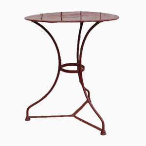 Vintage French Bistro Garden Table