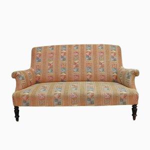 Antikes französisches Napoleon III Sofa mit Gestell aus Buche