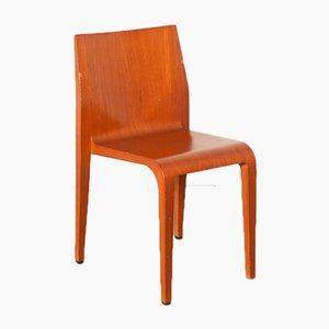 Cherry & Polyurethane Laleggera Chair by Riccardo Blumer for Alias, 1990s