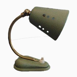Deutsche Mid-Century Tischlampen mit Gestell aus Messing, 1950er, 2er Set