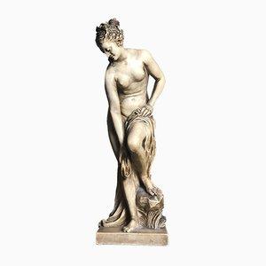 Sculpture de Femme Nue Drapée Antique de Susse Frères, France