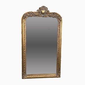 Vintage Spiegel im Louis XV-Stil mit vergoldetem Rahmen