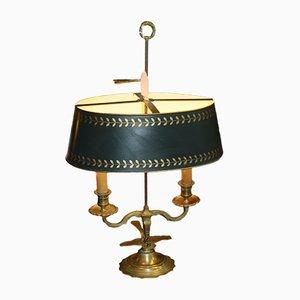 Französische Mid-Century Kessellampe aus Messing, 1960er