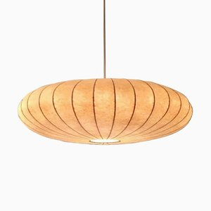 Vintage Cocoon Flying Saucer Pendant Lamp by Castiglioni Brothers