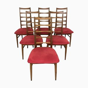 Vintage Teak Chairs by Niels Koefoed for Koefoeds Hornslet, Set of 6