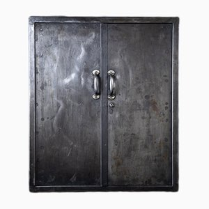 Industrial German Iron Cabinet by August Blödner, 1920s