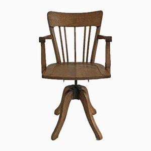 Chaise de Bureau Mid-Century en Chêne, 1950s