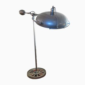 Mid-Century French Metal Floor Lamp, 1950s