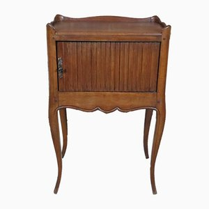 Vintage French Mahogany Nightstand, 1920s