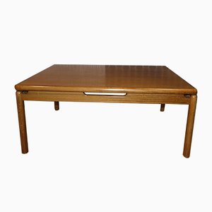 Large Model 1310 Walnut Coffee Table from Opal Möbel, 1970s