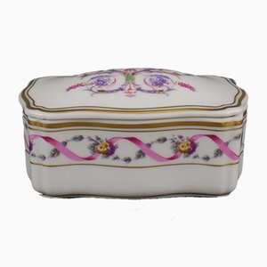 Italian Porcelain Trinket Box from Richard Ginori, 1960s