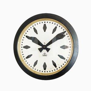 Reloj de fábrica alemán Bauhaus industrial de Siemens & Halske, años 30