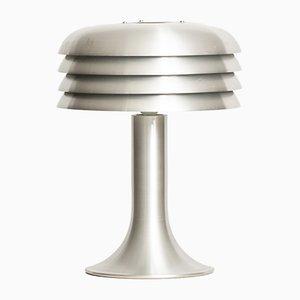 Lámpara de mesa BN-26 de aluminio de Hans-Agne Jakobsson, años 60
