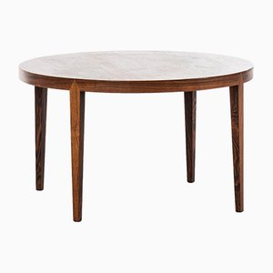 Danish Rosewood Coffee Table by Severin Hansen for Haslev Møbelsnedkeri, 1950s
