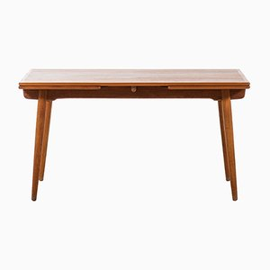 Oak & Teak AT-312 Dining Table by Hans Wegner for Andreas Tuck, 1950s