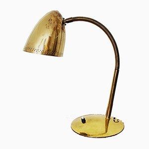 Grande Lampe de Bureau Mid-Century en Laiton, 1950s