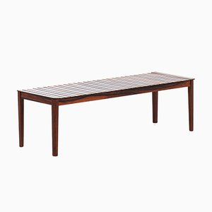 Rosewood Coffee Table or Bench from Alberts Tibro, 1960s