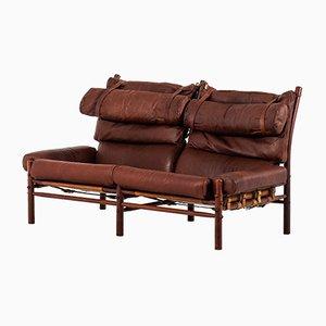 Scandinavian Modern Beech Inca Sofa by Arne Norell, 1960s