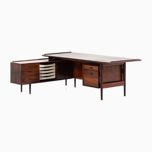 Dänischer Modell 209 Schreibtisch aus Palisander von Arne Vodder für Sibast, 1960er