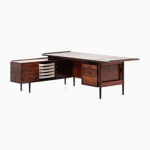 Danish Rosewood Model 209 Desk by Arne Vodder for Sibast, 1960s