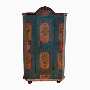 Antiker Kleiderschrank aus Holz, 1818