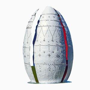Table et 4 Chaises Egg par Mercedes Eirin