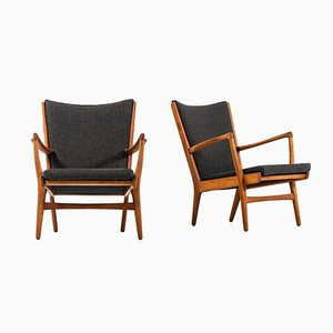 AP-16 Easy Chairs by Hans Wegner, 1951, Set of 2