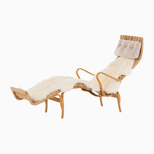 Vintage Lounge Chair by Bruno Mathsson for Firma Karl Mathsson, 1960s