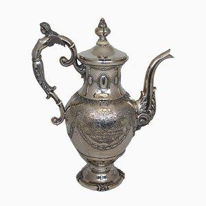 Silberne Teekanne von Johannes Hendricus Balfoort, 1878